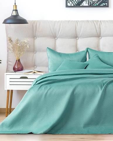 AmeliaHome Prehoz na posteľ Carmen mint, 220 x 240 cm
