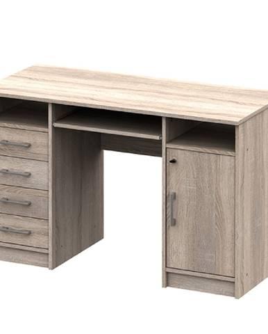 PC stôl dub sonoma B9 NEW