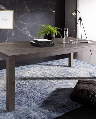 TAMPERE Jedálenský stôl 160x90 cm, dub, dymová