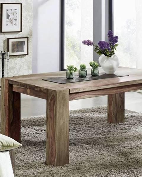 Bighome.sk GREY WOOD Jedálenský stôl 180x100 cm, palisander