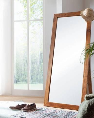 CAMBRIDGE HONEY Zrkadlo 75x175 cm, akácia
