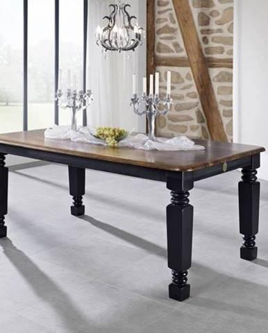 KOLONIAL Jedálenský stôl 220x100 cm, palisander