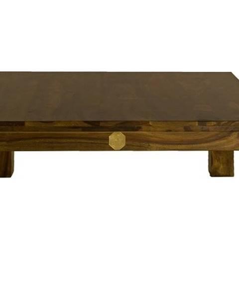 Bighome.sk DAKOTA Konferenčný stolík 90x90 cm, palisander