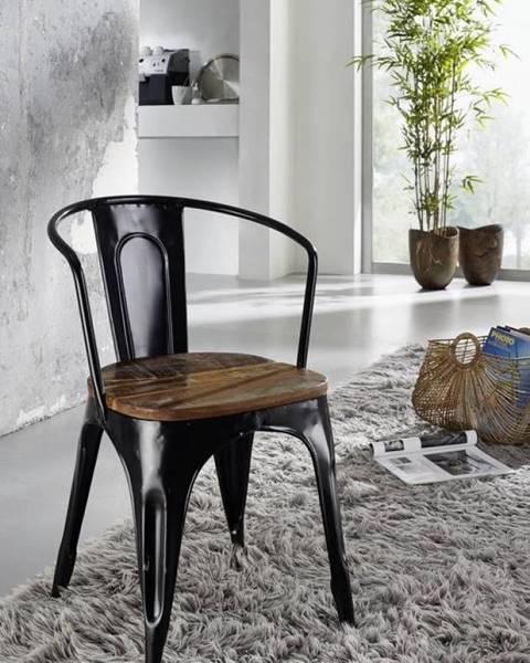 Bighome.sk INDUSTRY Jedálenská stolička, staré drevo