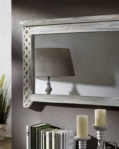 ANTIK Zrkadlo 90x60 cm, mango a akácia