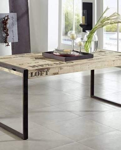 FABRICA Jedálenský stôl 160x90 cm, mango