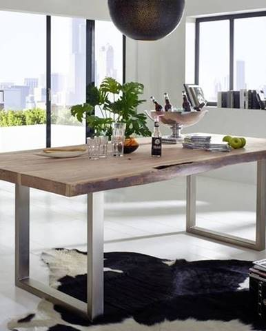 METALL Jedálenský stôl 270x110 cm