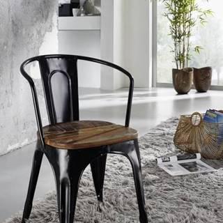 INDUSTRY Jedálenská stolička, staré drevo