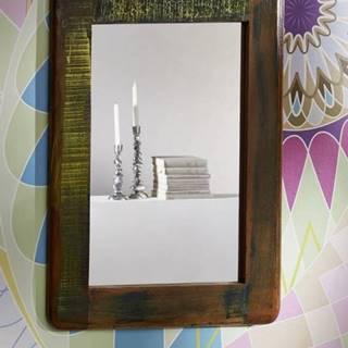 TESORI Zrkadlo 60x80 cm, staré drevo