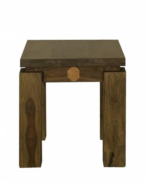 Bighome.sk MONTANA Príručný stolík 40x40 cm, palisander