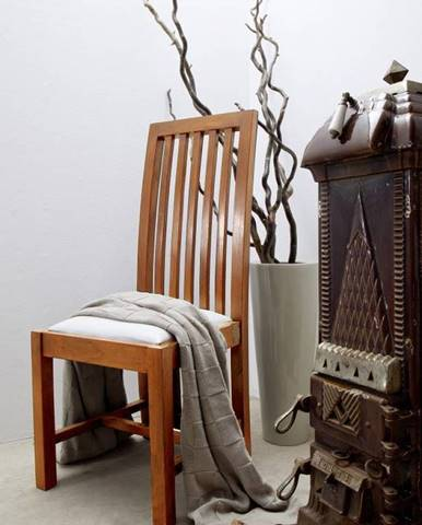 CAMBRIDGE HONEY Jedálenská stolička čalúnená
