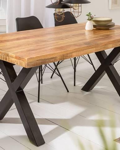 Jedálenský stôl IRONIC X 160 cm