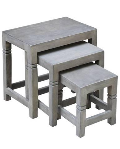 Set príručných stolíkov AREA