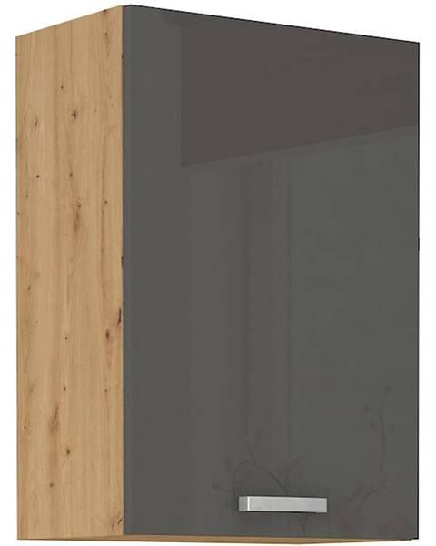 MERKURY MARKET Skrinka do kuchyne Artisan sivá lesk 50G-72 1F