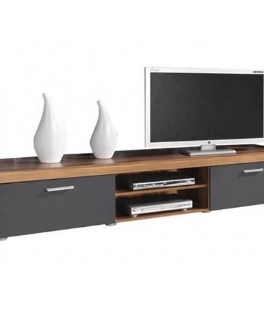 TV stolík 8 Samba slivka/grafit