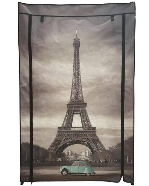 MERKURY MARKET Látková skriňa Paris 02 HB-NP10RPA-A