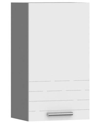 Kuchynská skrinka Paula biela W40 práva