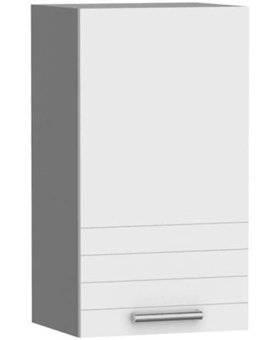 Kuchynská skrinka Paula biela W45 práva