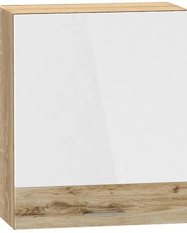 Skrinka do kuchyne Mocca W60 P/L biely lesk