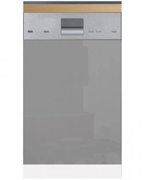 MERKURY MARKET Skrinka do kuchyne Gardena D60FZN dvierka na umývačku 570 X 596 grey