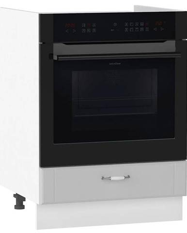Skrinka do kuchyne Moniuszko DK60 S/1 šedá matná BB