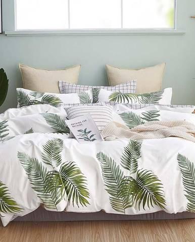 Bavlnená saténová posteľná bielizeň ALBS-01202B