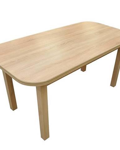 Jedálenský stôl  ST11 160X80+40 dub Sonoma G