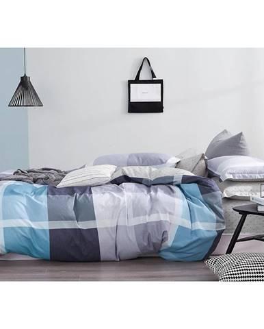 Bavlnená saténová posteľná bielizeň ALBS-01159B/2 140X200 Lasher