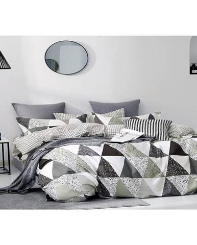 Bavlnená saténová posteľná bielizeň ALBS-01160B/2 140X200 Lasher