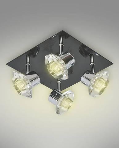 Bodové svietidlo Lotos AS-8714-04A-6710 black PL4