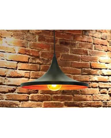 Lampa Modern 1A 305442 LW1 čierna