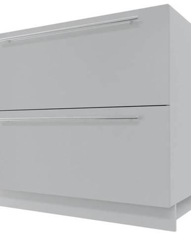 Skrinka do kuchyne Essen grey D2E/90/1E