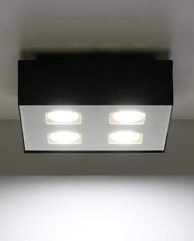 Stropná Lampa Atlanta 4 BLACK A-073