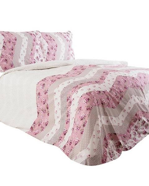 MERKURY MARKET Bavlnená  saténová  posteľná  bielizeň  70x90/140x200  Freja
