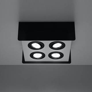 Stropná Lampa Quadro 4 BLACK A-412