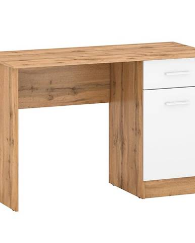 Písací stôl Stil 2 votan/biely