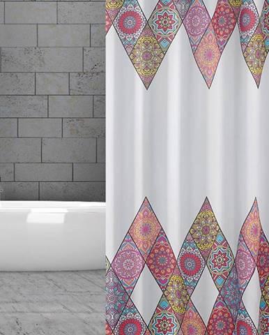 Textilný záves 180/200 W10149 Patchwork
