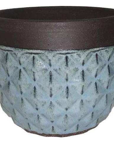 Kvetináč R749-29/29/23.5 modrý