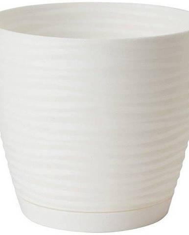 Sahara Petit okrúhly s podstavcom 11 cm biela