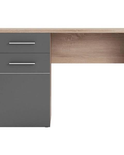 MERKURY MARKET Písací stôl Titto (korpus+dvierka)