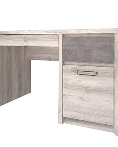 Písací stôl 3 Axer gaštan nairobi/onyx