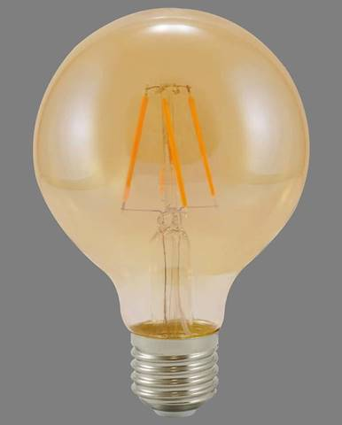Ziarovka LED G80 E27 4W filament Vintage Amber 304520