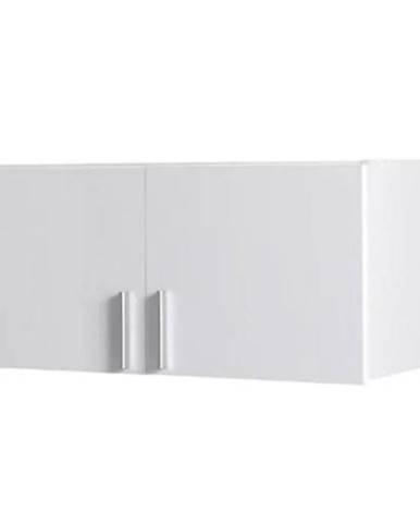 Nadstavec na skriňu Snow 02a  91 cm  lesklá/biela alpská