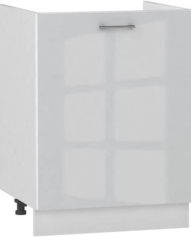 Skrinka do kuchyne Alvico D60ZL P/L luxe blanco BB