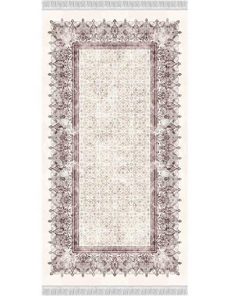 Tempo Kondela Linon koberec 160x230 cm krémovohnedá