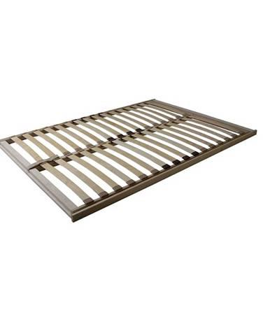Basic Flex Front lamelový rošt 90x200 cm ohýbané brezové drevo