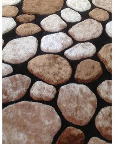 Pebble Typ 2 koberec 100x140 cm hnedá