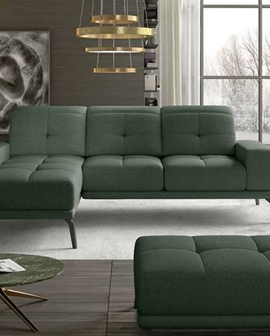 Tirreno L rohová sedačka zelená