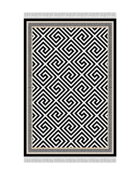 Tempo Kondela Motive koberec 80x200 cm čierna