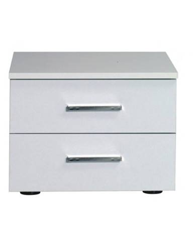 Asiena nočný stolík (2 ks) biela